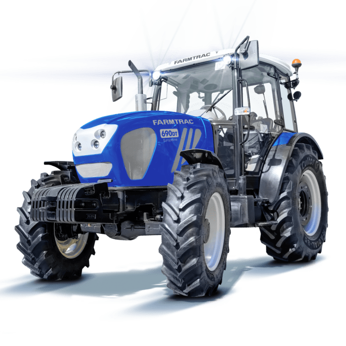 Farmtrac 690 DTŋ 12×12