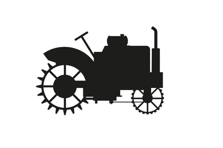 ciągnik retro